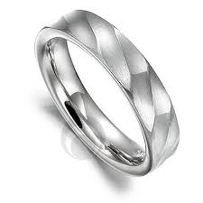 mens silver wedding rings wedding ideas bond2 mens wedding band in 14kt white gold and
