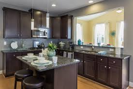 Kitchen Cabinets Washington Dc Dark Cabinets Granite Countertops Breakfast Area At The