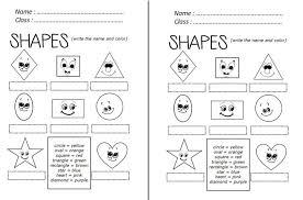free shapes worksheets activity shelter 2d worksheet kindergarte