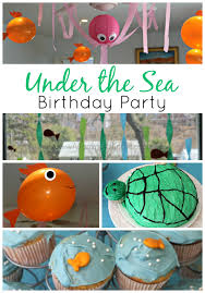 the sea party the sea birthday party s bundle