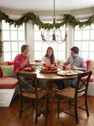 a festive holiday kitchen hgtv