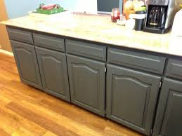 How To Paint Kitchen Cabinets Gray by Using Chalk Paint To Refinish Kitchen Cabinets Wilker Do U0027s