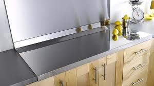 protege plan de travail cuisine plan travail inox de sur mesure cuisine 19 11 photos plans