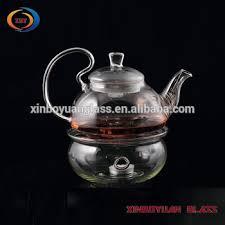 Teh Arab ramah lingkungan pyrex kaca bunga teh arab pot set buy product on