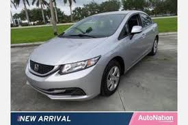 used honda civic 2013 used honda civic for sale in fl edmunds