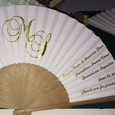 wedding fan favors more of our personalised weddings fans heading to toronto canada