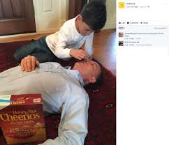 Hearst Sweepstakes S A Dad Wins Online Cheerio Contest By Stacking Cereal On His