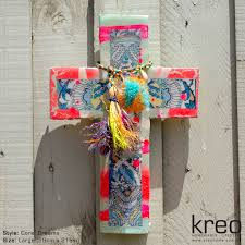 crosses home decor ahoy trader cross coral dreams kreo home products pinterest
