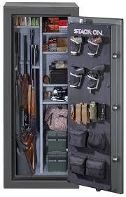 stack on 14 gun cabinet accessories total defense 24 gun safe