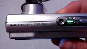 cámara digital sony dsc w90 8 1 mega pixels lente carl zeiss youtube