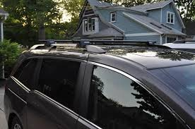 honda odyssey roof rails oem hitch roof rails install