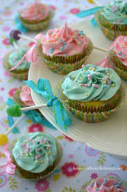 Welcome Home Baby Decorations Best 25 Baby Rattle Cupcakes Ideas On Pinterest Baby Shower