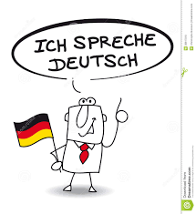 ich spr che ich spreche sehr gut businessman speak fluently german