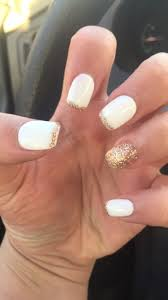 spring nails white gold nails pinterest spring nails