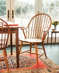 Shaker Dining Room Chairs Amish Early American Windsor Dining Room Chair Early American
