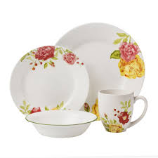 Corelle 76 Piece Dinnerware Set Corelle Boutique Emma Jane 16 Pc Dinnerware Set Corelle