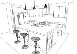 dessiner plan cuisine cuisine dessiner plan cuisine