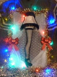 Lighted Ugly A Christmas Story Sweater Leg L W Real Shade