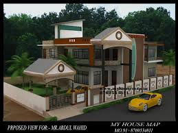 modern elevation bungalow design front house inspirations map