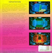 si e pour le dos infestation 1990 dos box cover mobygames
