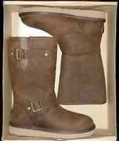 s sutter ugg boots toast ugg australia s sutter leather toast boot size 7 1005374