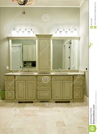 In Stock Bathroom Vanities Interior Design For Expensive Bathroom Cabinets Stock Photo Image
