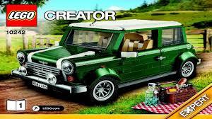 mini cooper lego 10242 lego mini cooper creator expert instruction booklet youtube