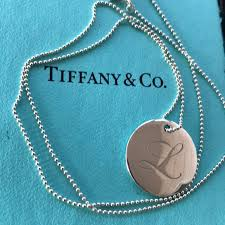 tiffany necklace charms images Tiffany co jewelry tiffany notes alphabet disc charm and bead jpg