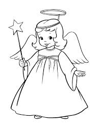 angel coloring pages