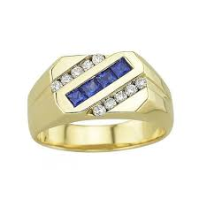 gold ring design gemstone ring design 0 50 ct diamond b sapphire gold engagement