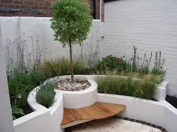 amazing landscaping ideas for front yard terrace in the garden