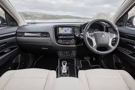 outlander mitsubishi 2015 interior mitsubishi outlander phev arrives stronger and with longer range