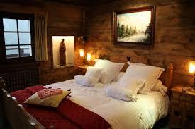 chambre style chalet idée déco chambre style chalet