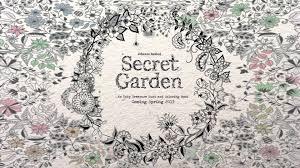 secret garden colouring book postcards secret garden an inky treasure hunt and coloring book