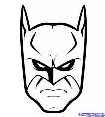 batman comic easy sketch drawing art library