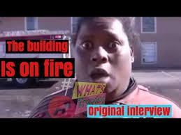 Not Today Meme - original the building is on fire interview not today it s popping