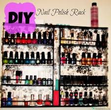 diy nail polish rack guest tutorial so you think you u0027re crafty