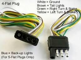 trailer 4 wire diagram u0026 basic 4 wire trailer wiring diagram 5