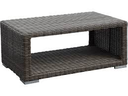 Sunset West Outdoor Furniture Sunset West Quick Ship Coronado Wicker 48 X 29 Rectangular Coffee