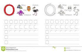 cartoon octopus and owl alphabet tracing worksheet writing a z