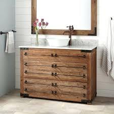 Pine Bathroom Furniture Rustic Bathroom Vanity Reclaimed Wood Vessel Sink Vanity Wax Pine