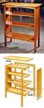 Fine Woodworking Bookshelf Plans by Simple Bookcase Plans Furniture Plans And Projects