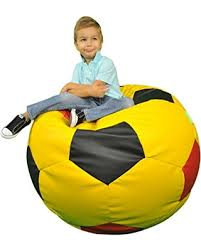 get the deal turbo beanbags soccer ball multicolor bean bag chair