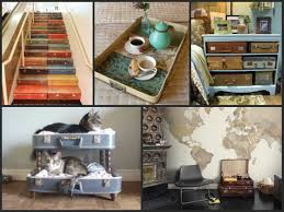 Upcycling Furniture - upcycled furniture ideas repurposed old suitcases youtube