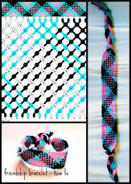 bracelet tutorials youtube images Pink blue black friendship bracelet tutorial jpg