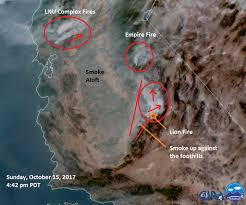 California Wildfires Hume Lake by California Smoke Information