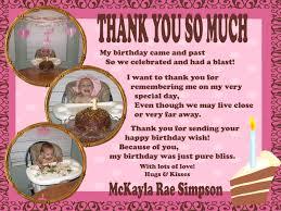 1st birthday thank you card wording alanarasbach com