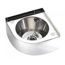 wall mount stainless steel sink fitmykitchen fw240c corner wall mounted stainless steel hand wash