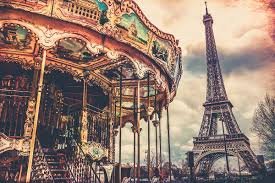 eiffel tower and carousel gallery of fine art photography