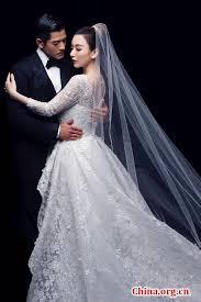 wedding china hk superstar aaron kwok holds wedding china org cn